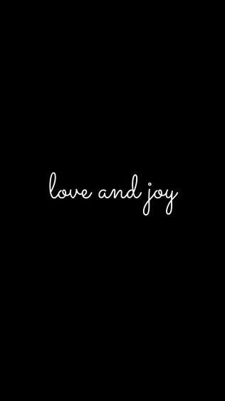 Love and Joy iPhone Wallpaper