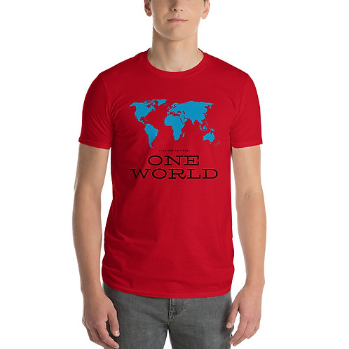 Love One Another One World | Short-Sleeve T-Shirt