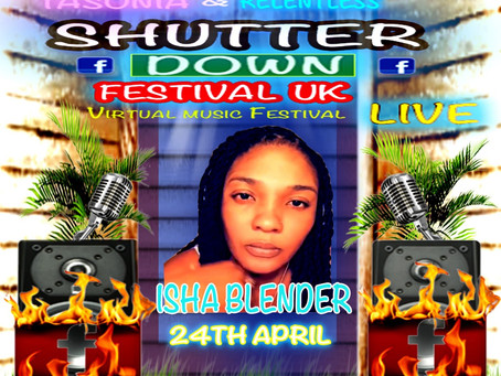 Tasonia & Relentless music Presents Shutter Down Festival UK Live