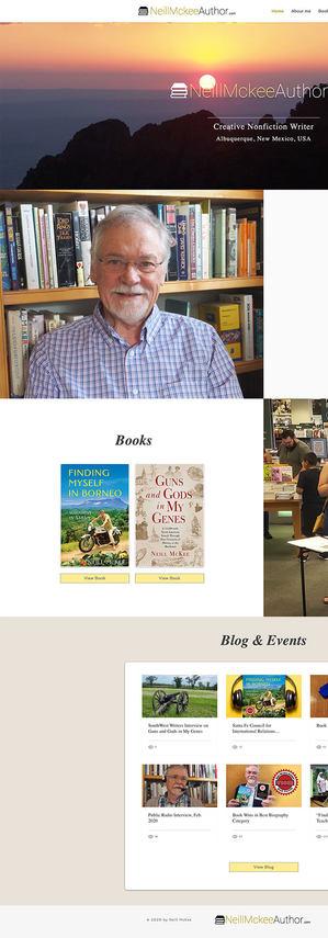 Neill Mckee Author
