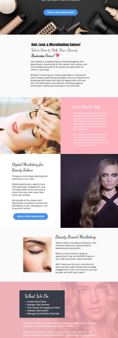 My Beauty Salon Marketing