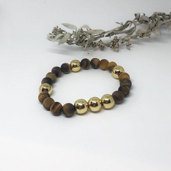 Heart of Gold Mala Bracelet