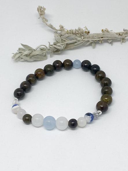Peaceful Power Mala Bracelet