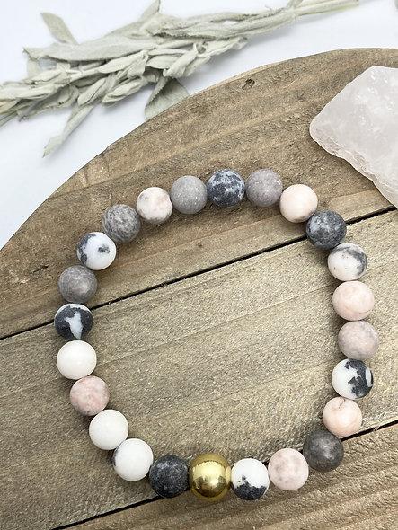 Infinite Peace Mala Bracelet