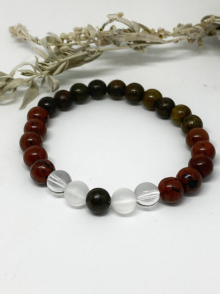 Mindful thoughts Mala Bracelet