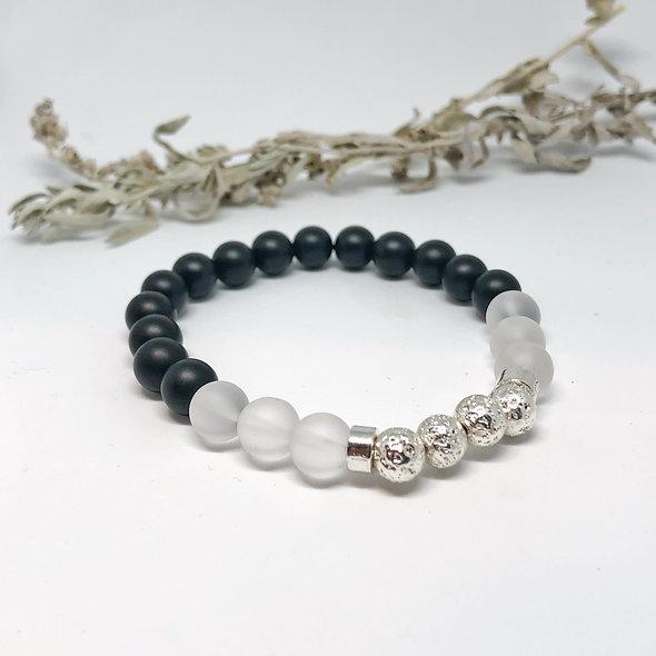 Ying & Yang Diffuser Mala Bracelet