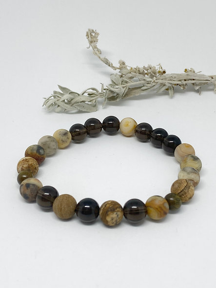 Earth Child Mala Bracelet