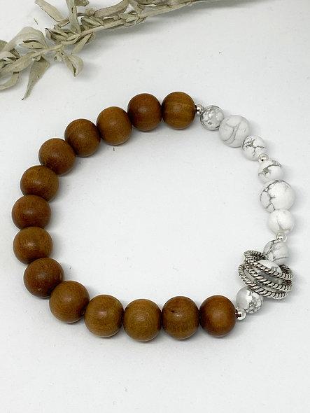 Be Grounded Mala Bracelet