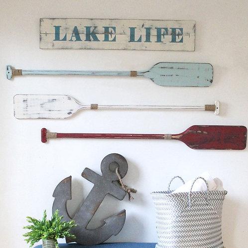 Oar Wall Decor - set of 2, 3 or 4 oars
