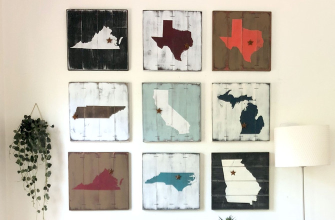 How to Show Your State Spirit? Say it with State Art Paintings!