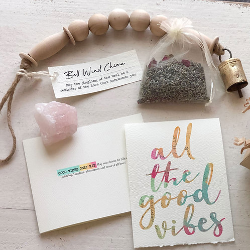 SENDING GOOD VIBES gift box