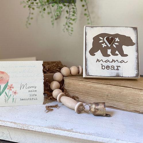 MAMA BEAR gift set 3-4 pc