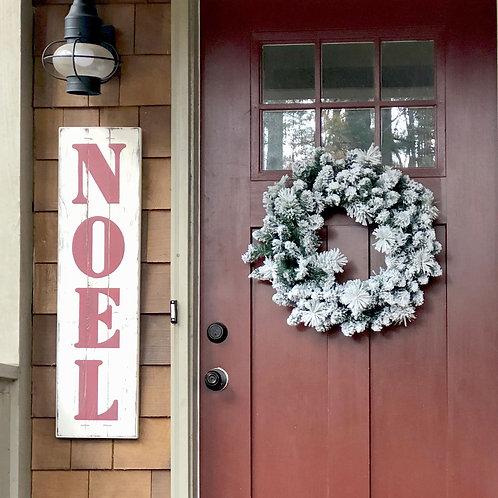 NOEL or JOY Christmas Sign