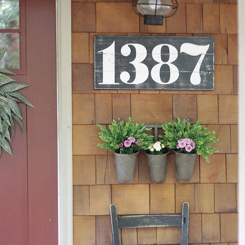 RUSTIC ADDRESS NUMBERS