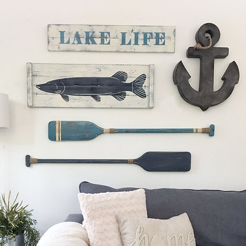 NAUTICAL ART SET (3-5 pc set)