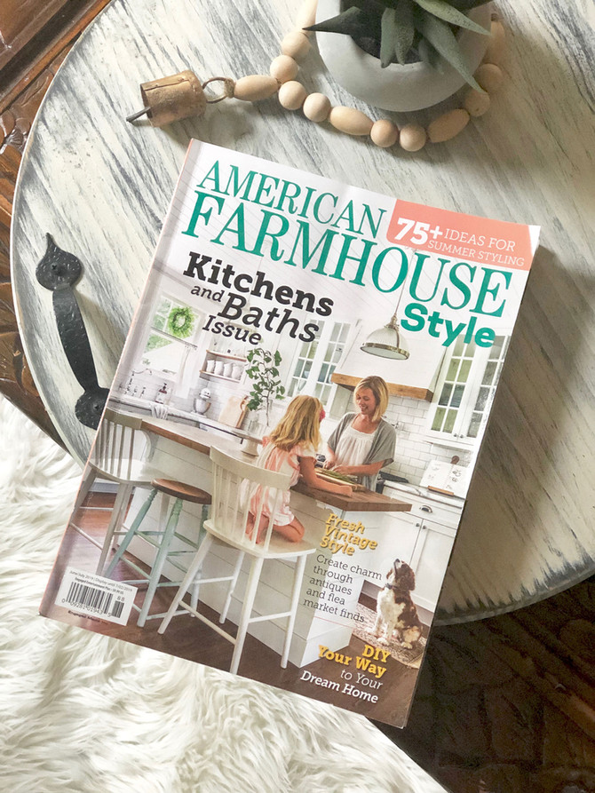 Featured in American Farmhouse Style Magazine!
