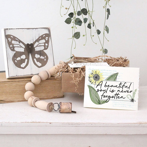BUTTERFLY MEMORIAL GIFT Box, 3-4 pc.