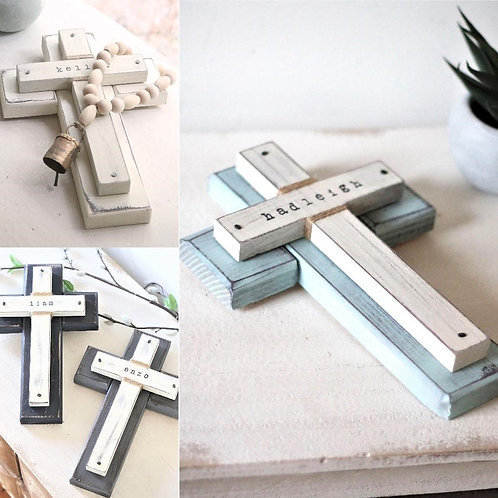 Personalized CROSS - baptism gift