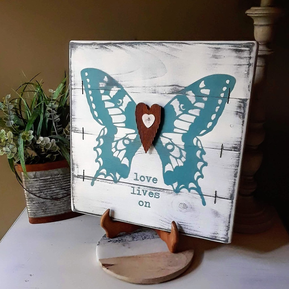 sympathy gift butterfly