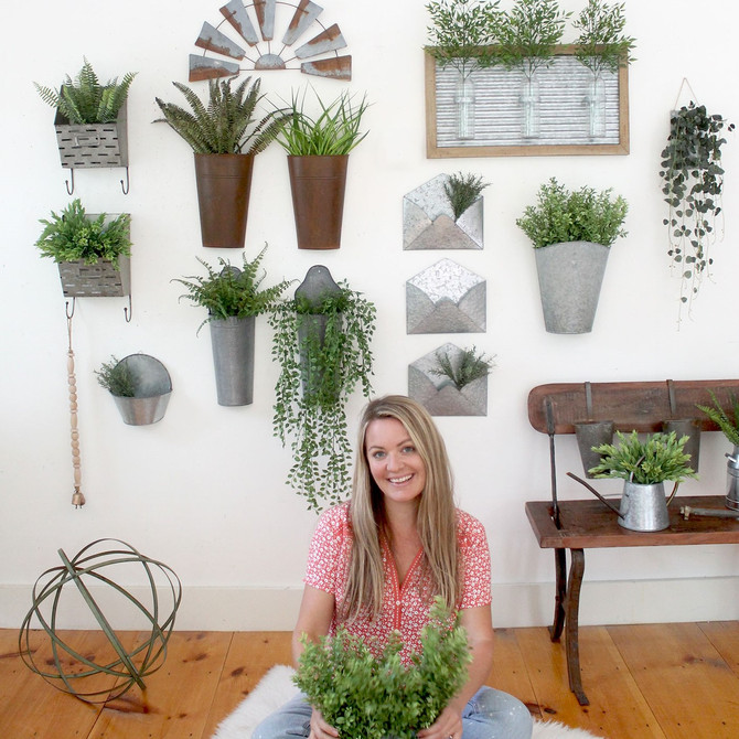 Wall Buckets, Plant Sconces, Hanging Vases...whatever you call them, they're HOT!