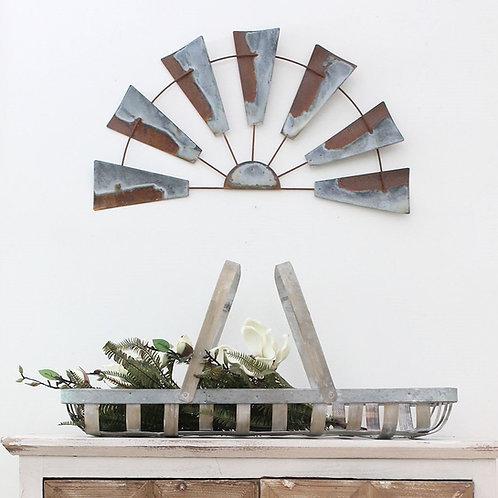 Rustic Tin Windmill, 2 sizes