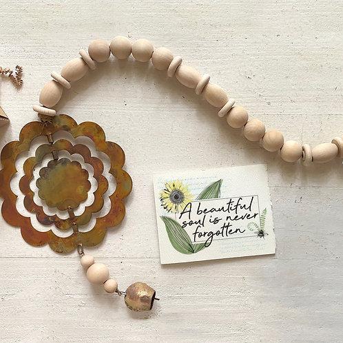 FLOWER MEMORIAL WIND CHIME gift box