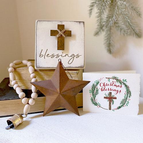 CHRISTMAS BLESSINGS gift set 3-4 pc