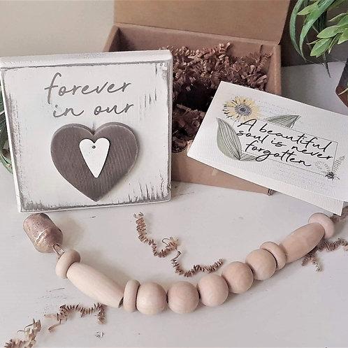 HEART MEMORIAL GIFT Box, 3-4 pc.