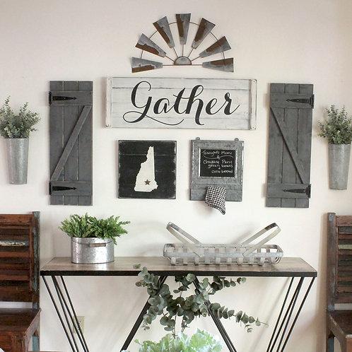 GATHER GALLERY WALL set (3-8 pcs.)