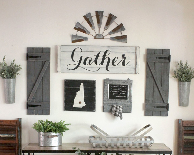 How to Create a Farmhouse Gallery Wall