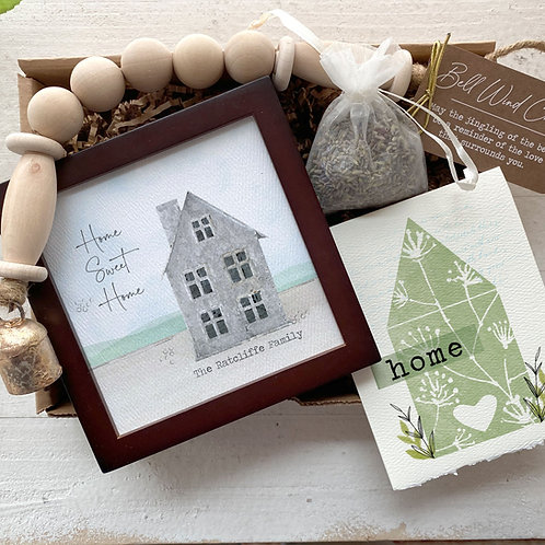 HOME SWEET HOME gift set