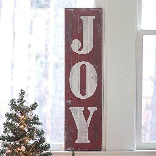 JOY or NOEL Sign