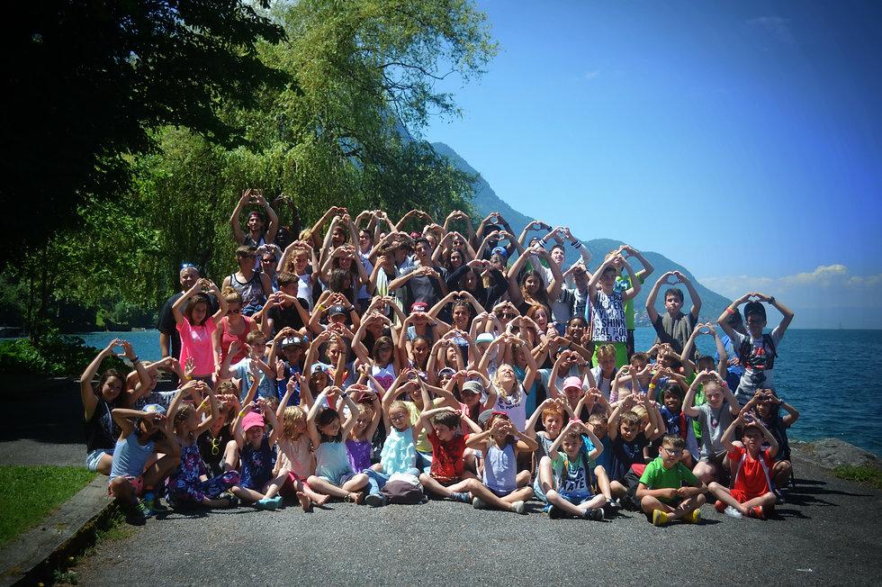 Nos trois camps de vacances annuels à Evolène et au Bouveret en Valais.