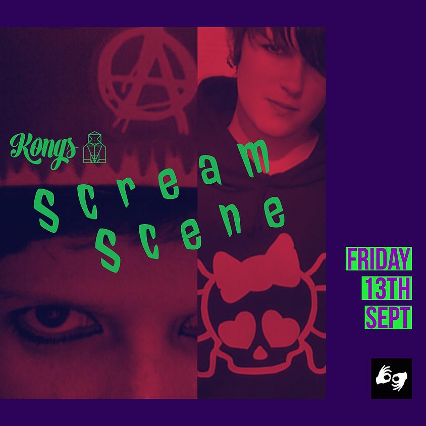 Kong's Scream Scene