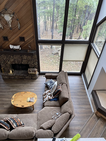 Vinly Plank Flooring In Cabin