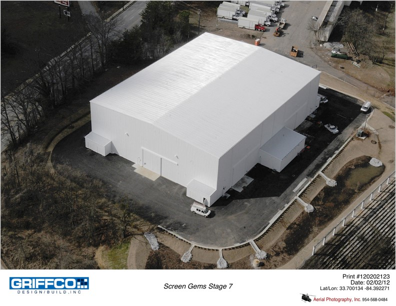 Screen Gems Studios, Stage #6 - New Soundstage - Atlanta, GA
