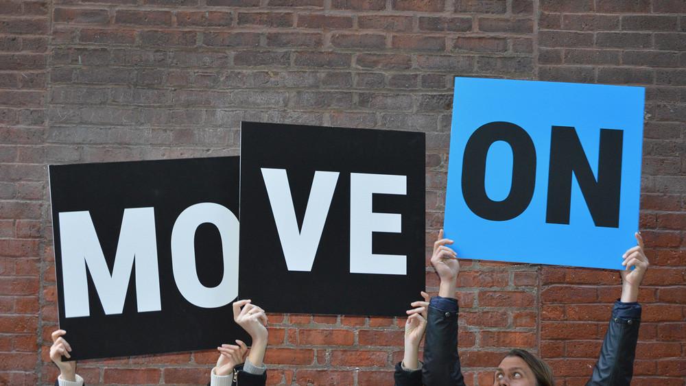 MoveOn protest