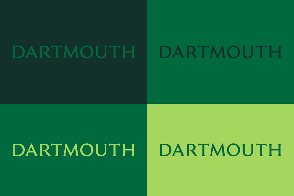 Dartmouth colors