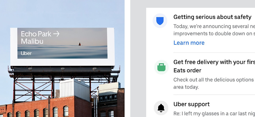 Uber icon usage