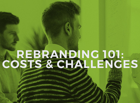 How Much Does Rebranding Cost? Of Course, It All Depends.