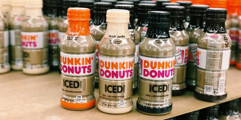 Dunkin Iced Coffee Bottles