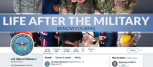 Department of Defense Twitter Page