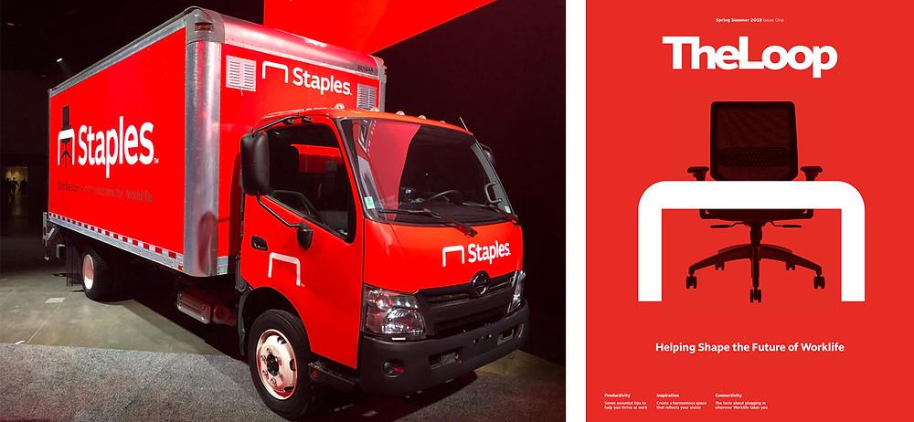 New Staples Branding Application