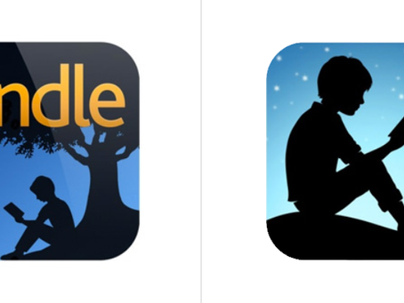 New Amazon Kindle App Icon: Highlighting What's Important