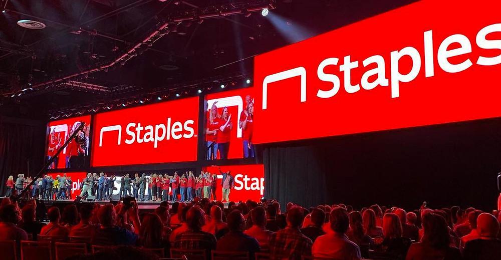 New Staples Branding