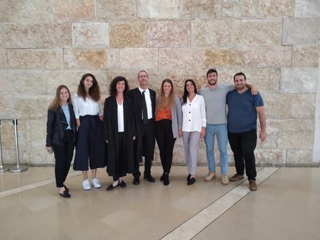 חברי וחברות הקליניקה בבית המשפט העליון, מאי 2019.
