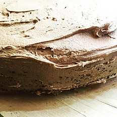 Orange and almond Cake  with chocolate buttercream (Gluten Free)