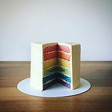 "8"" Rainbow cake"