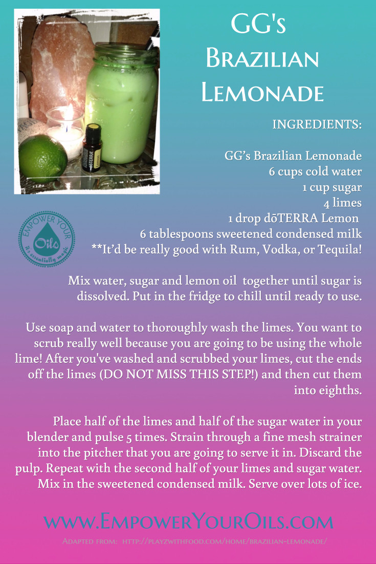GG's Brazilian Lemonade