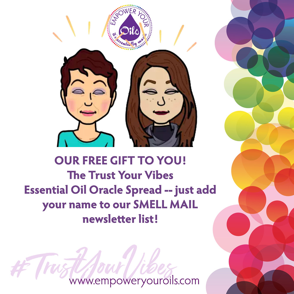 FREE Trust Your Vibes Essential Oil Oracle Spread